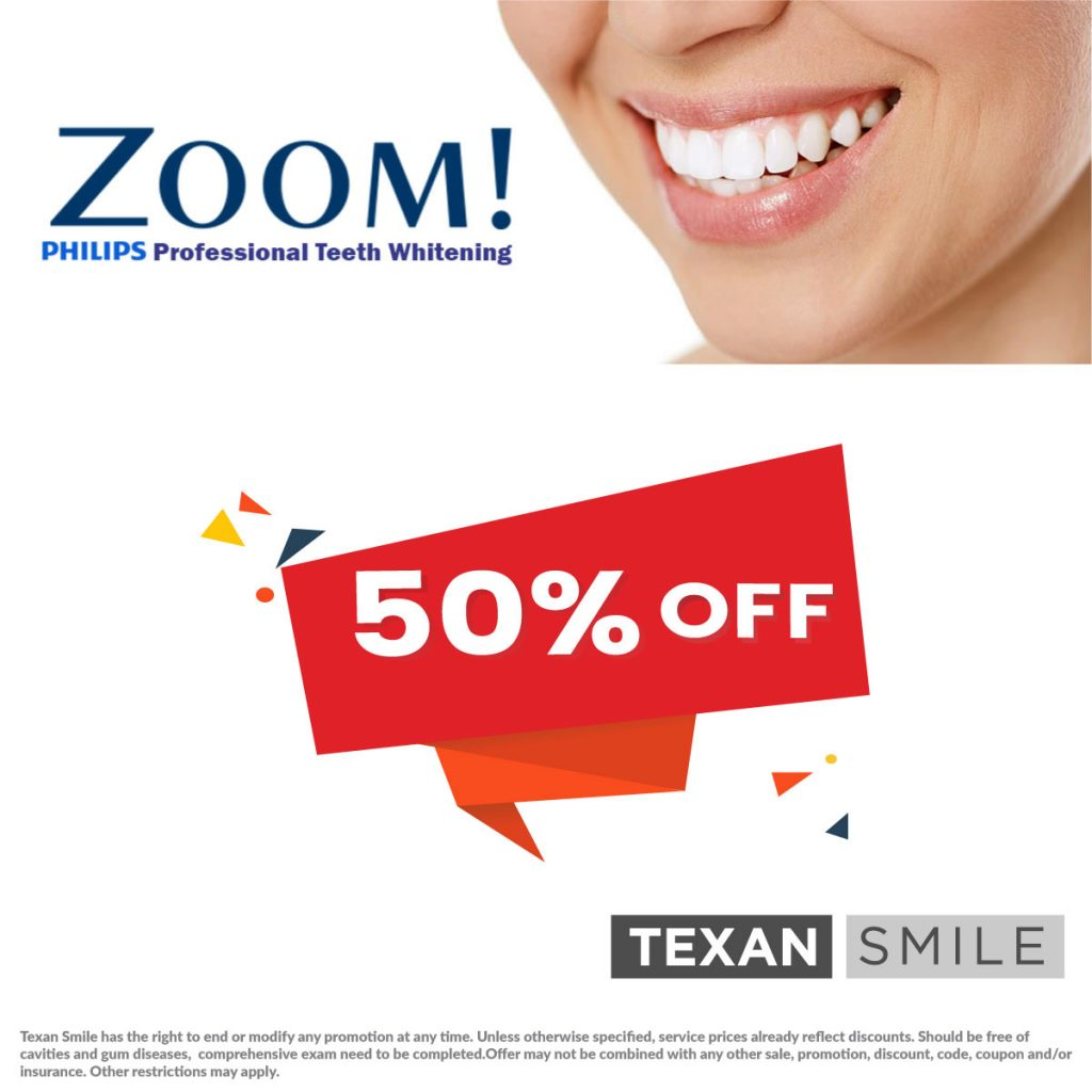 Texan Smile Dentist Sugar Land 77479 Free 50 %off Teeth Whitening